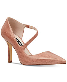 Nine West Mansura Strappy D'Orsay Pumps