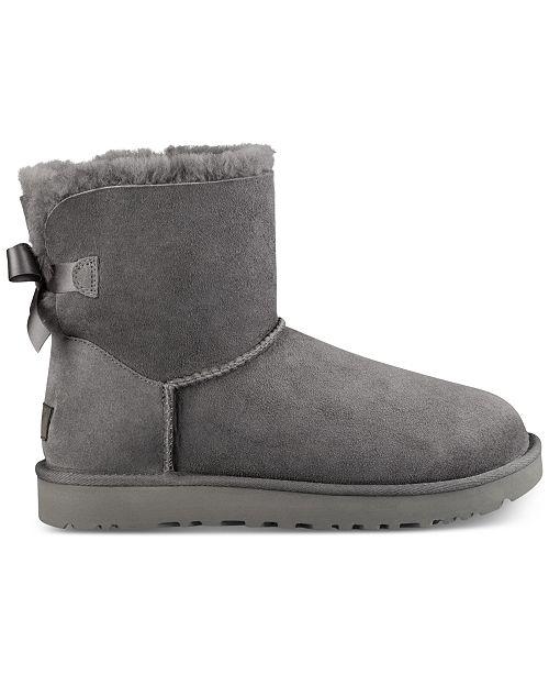 51f4b05d054 UGG® Women s Mini Bailey Bow II Boots   Reviews - Boots - Shoes - Macy s