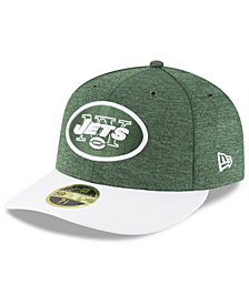 New Era New York Jets On Field Low Profile Sideline Home 59FIFTY FITTED Cap