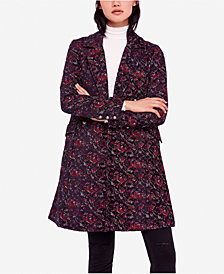 Free People Fox Trot Equestrian Trench Coat