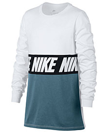 Nike Big Boys Sportswear Advance 15 Training Cotton T-Shirt
