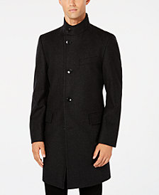 Hugo Boss Men's Slim-Fit Mintrax Glencheck Overcoat