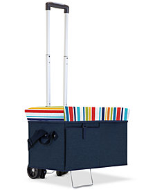 Picnic Time Ottoman Portable Cooler with Trolley