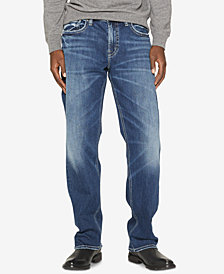 Silver Jeans Co. Men's Grayson Easy-Straight Fit Stretch Jeans