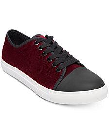 Steve Madden Men's Barrage Velvet Sneakers