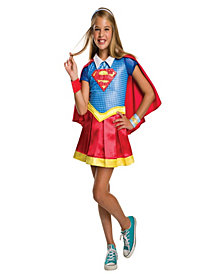 DC Superhero Girls: Supergirl Deluxe Girls Costume