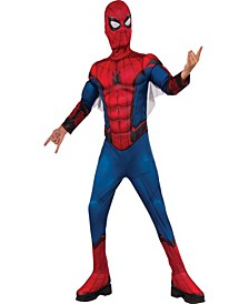 Marvel Spider-Man Homecoming - Spider-Man Deluxe Muscle Little and Big Boys Costume