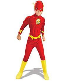 DC Comics The Flash Muscle Chest Deluxe Boys Costume