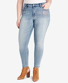 Jessica Simpson Trendy Plus Size Skinny Jeans