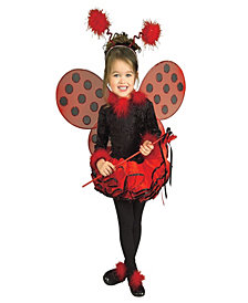 deluxe lady bug girls costume