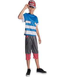 Pokemon - Ash Ketchum Boys Costume