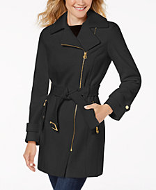 MICHAEL Michael Kors Petite Asymmetrical Coat