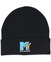6f480576b13 Block Hats Men s MTV Cuffed Beanie