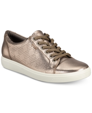 UPC 809704479330 product image for Ecco Women's Soft 7 Lace-Up Sneakers Women's Shoes | upcitemdb.com