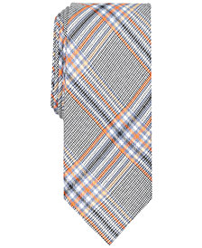 Tallia Men's Elton Plaid Slim Tie