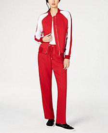 MICHAEL Michael Kors Zip-Front Bomber Jacket & Track Pants