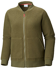 Columbia Feeling Frosty™ Fleece Knit-Trim Jacket