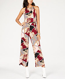 Thalia Sodi Chain-Strap Jumpsuit, Created for Macy's