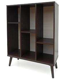 Abigale Oak Bookshelf, Quick Ship