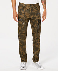 I.N.C. Men's Camouflage Cargo Pants, Created for Macy's