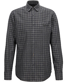 BOSS Men's Regular/Classic-Fit Check Shirt