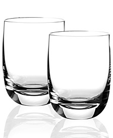 Drinkware, Set of 2 Blended Scotch No 3 Tumblers