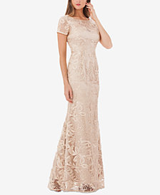 JS Collection Soutache Gown