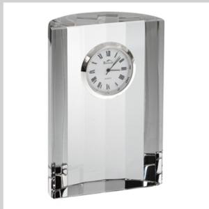 Badash Crystal Half Moon Clock