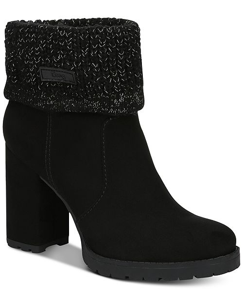 b75d4d5049c2 Circus by Sam Edelman Carter Booties   Reviews - Boots - Shoes - Macy s