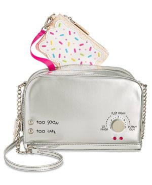 Image of Betsey Johnson A Toast To You Small Crossbody