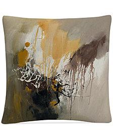 "Rio Abstract I 16"" x 16"" Decorative Throw Pillow"
