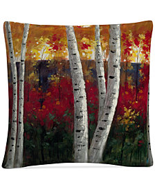 "Rio Autumn 16"" x 16"" Decorative Throw Pillow"