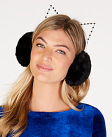 BCBG Faux-Fur Cat Earmuffs
