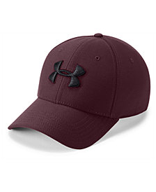 Under Armour Heathered Blitzing 3.0 Stretch Fitted Cap