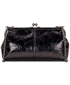 Patricia Nash Potenaz Patent Leather Frame Shoulder Bag