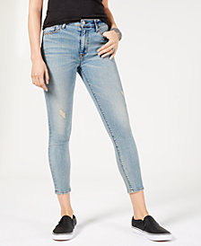Hudson Jeans Barbara High-Waist Cropped Super-Skinny Jeans