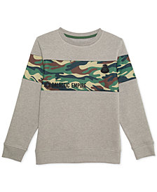 Star Wars Big Boys Galactic Empire Camo Graphic Sweatshirt