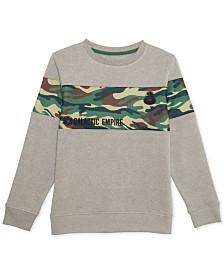 Star Wars Big Boys Galactic Empire Camo Graphic Sweatshirt
