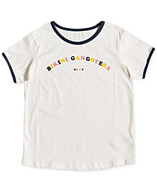 Roxy Big Girls Graphic-Print Cotton T-Shirt