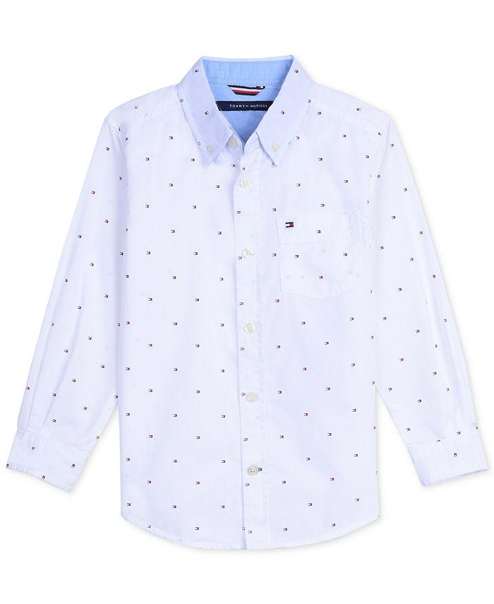 Tommy Hilfiger - Big Boys Logo Print Shirt