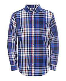 Tommy Hilfiger Little Boys Travis Plaid Shirt