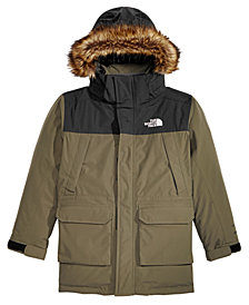 The North Face Little & Big Boys McMurdo Hooded Parka with Faux-Fur Trim