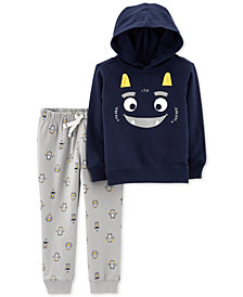 Carter's Baby Boys 2-Pc. Monster Hoodie & Jogger Pants Set