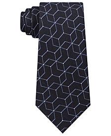Calvin Klein Men's Constellation Slim Silk Tie