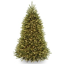 National Tree 7' Dunhill  Fir Hinged Tree with 650 Dual Color LED Lights & PowerConnect™