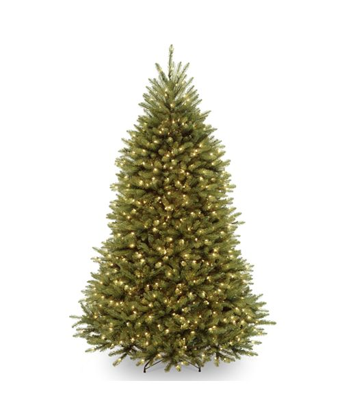 National Tree Company National Tree 7' Dunhill  Fir Hinged Tree with 650 Dual Color LED Lights & PowerConnect™