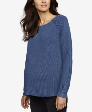Image of A Pea In The Pod Maternity Boyfriend Sweater