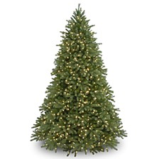 National Tree 6 .5' Feel Real Jersey Fraser Fir Tree with 800 Clear Lights
