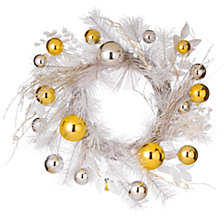 """National Tree Company 22"""" Christmas Wreath with Ornaments"""