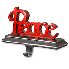"National Tree ""Peace"" Stocking Holder"